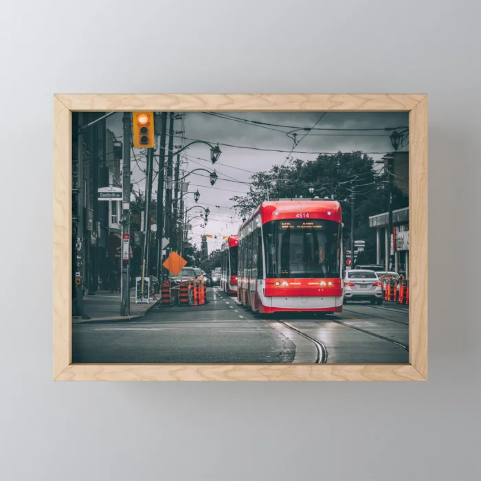 Storms & Streetcars at Danforth & Broadview. On Society6