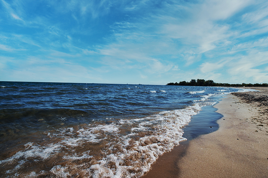 Woodbine Beach, Late September.  By Stephen Geisel, Love-fi