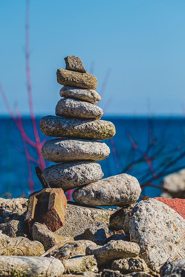 Stone Stack. By Stephen Geisel, Love-fi